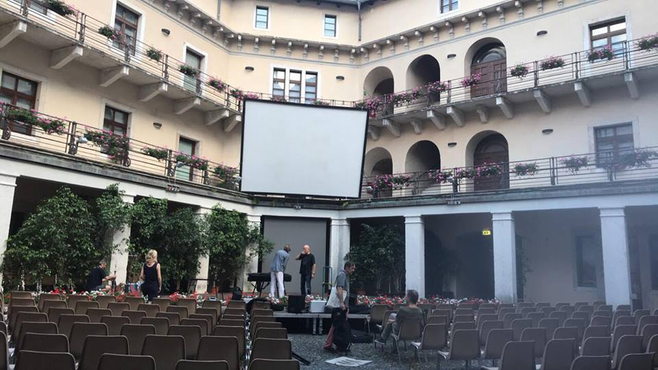 Cinema estate 2018 - Cortile interno della Rocca