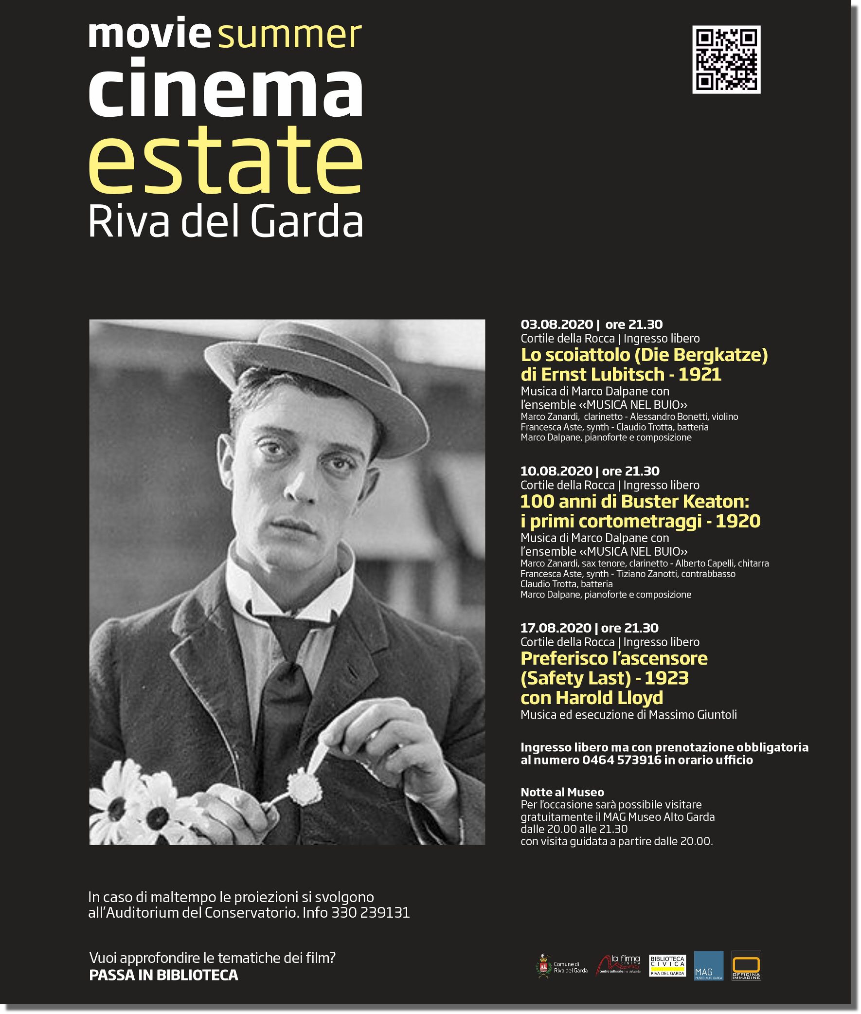 Cinema Estate 2020 - Riva del Garda
